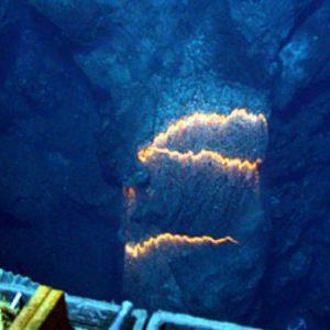 underwater volcanoe