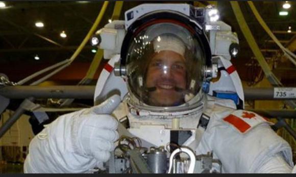 CSA astronaut Jeremey Hansen