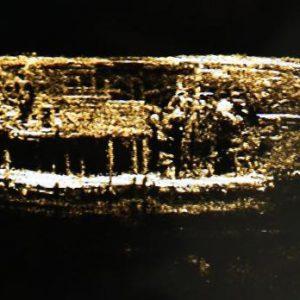 kraken image of discovered franklin vessel