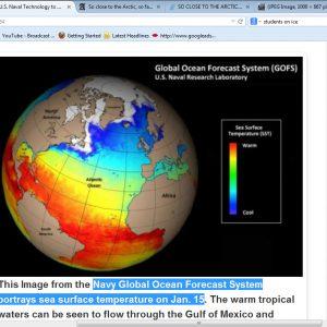 Navy Global Ocean Forecast System