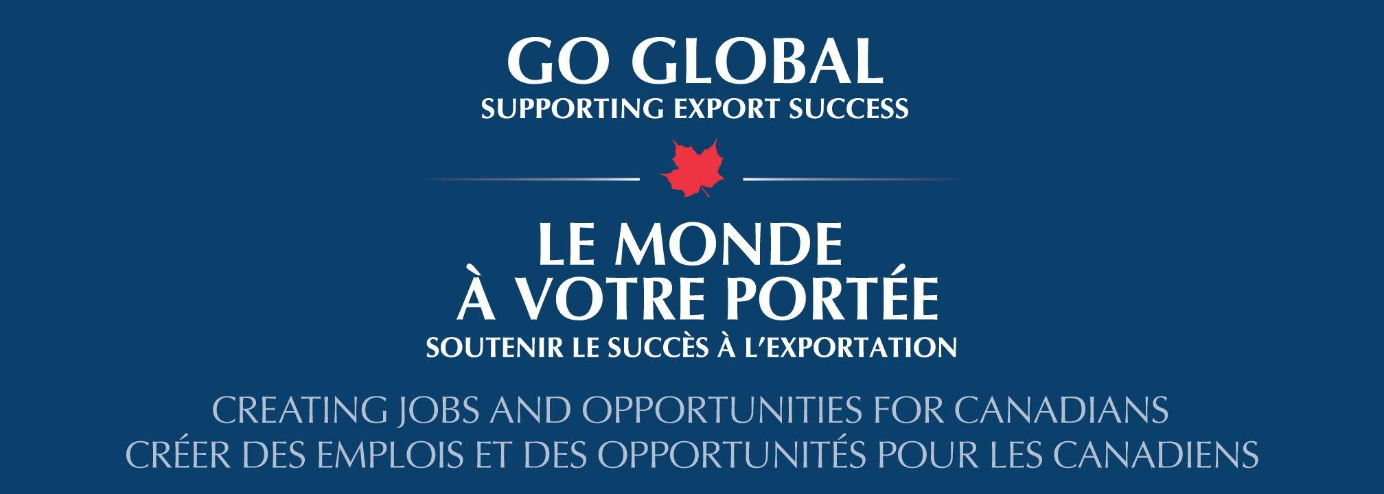 Go Global Supporting Export Success Oceansadvance Inc