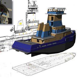 GENOA 3D design for Senesco Marine