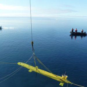 kraken sonar in the arctic