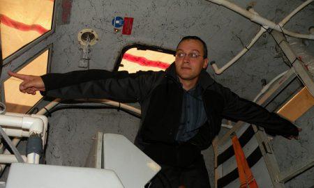 Randy Billard innovator IN SIDE LIFERAFT